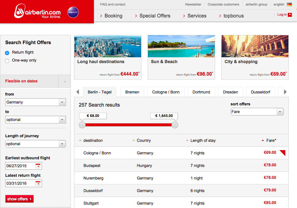 airberlin Sales 201506 Screen