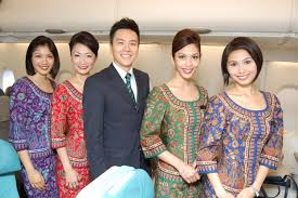 Singapore Airlines FlightCrew onboard