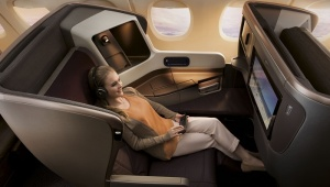 SingaporeAirlines BusinessSeat FlatNew