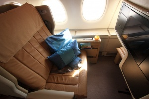 SingaporeAirlines BusinessSeat FlatOld