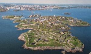 HEL Suomenlinna Birdview