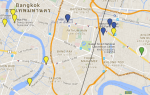 BKK Map Soulfood Mahanakorn