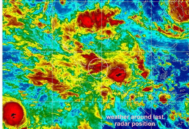 AirAsia QZ8501 Weather
