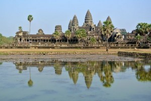 Angkor Wat Reflection Pond