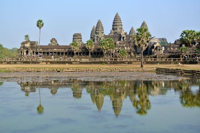 Angkor Wat Reflection Pond