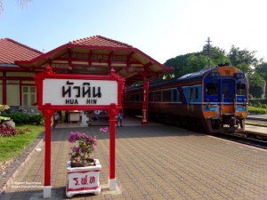 HUA Train Station